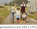 family, outside, living in the country 26211703