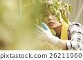 女性 農舍 農夫 26211960