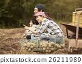 家庭 農活 農事 26211989