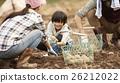 鄉村生活的家庭 26212022