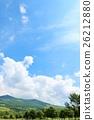 blue, sky, cloud 26212880