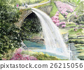 tsujun bridge, water discharge, aquarelle 26215056