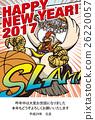 新年賀卡 賀年片 雞年 26220057