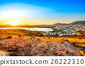 View of Gumbet, Bodrum, Turkey 26222310