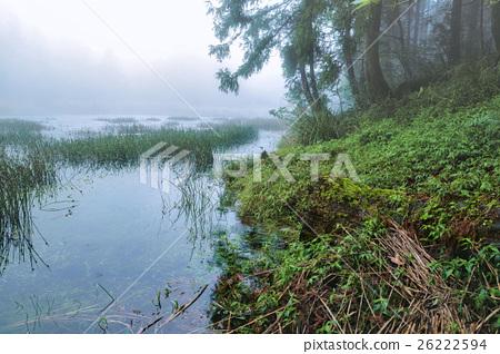 雲霧裡的夢幻湖1 26222594