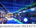tokyo dome city, winter illumination, christmas 26224273