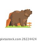 熊 动物 矢量 26224424