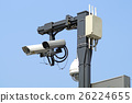 security camera on the street 26224655