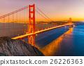 Golden Gate, San Francisco, California, USA. 26226363