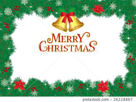 圣诞帧 26228867