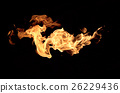 Fire flames background 26229436