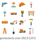 construction, icons, set 26231253