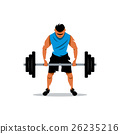 barbell training male 26235216