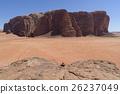 요르단 세계 유산 와디 럼 보호 구역의 사막 26237049