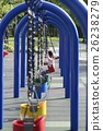Children's playground swing 26238279