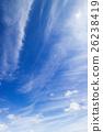 藍天天空雲彩秋天天空背景材料10月復制空間 26238419