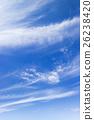 藍天天空雲彩秋天天空背景材料10月復制空間 26238420