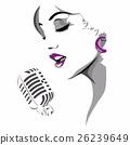 WOMAN SINGING 26239649