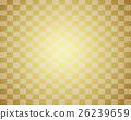 日式背景材料(金色,格子圖案,青海波浪) 26239659