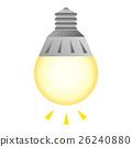 전구, 빛나는, 아이디어 26240880