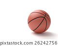 Basketball isolated on a white background. 26242756