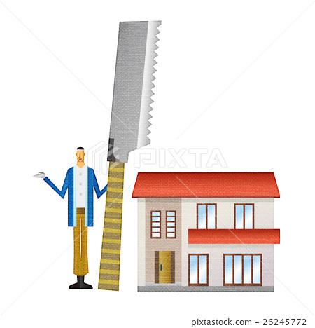 房屋 房子 住宅的 26245772