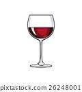 葡萄酒 红酒 玻璃 26248001