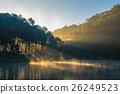 霧 泰國 湖泊 26249523