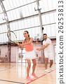 女人 女性 网球 26253813