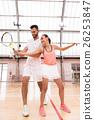 女人 女性 网球 26253847