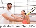 女人 女性 网球 26253852