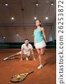 选手 网球 网球场 26253872