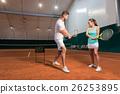 指导员 网球 女人 26253895