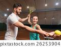 指导员 网球 女人 26253904