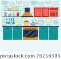 廚房 室內 室內空間 26256393