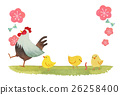 chicken, rooster, sexagenary cycle 26258400
