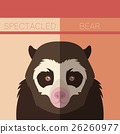 animal, bear, vector 26260977