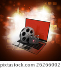 Laptop with reel 26266002