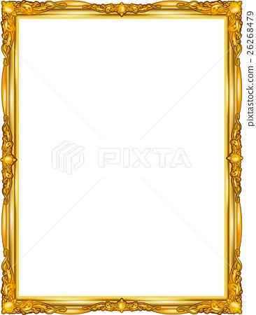 frame gold thai style. 26268479