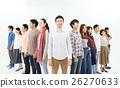 人們便衣大量的人 26270633