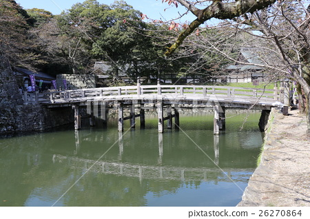 Hikone castle in autumn 26270864