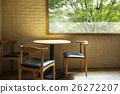 窗口 木桌 窗 26272207