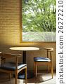 窗口 木桌 窗 26272210