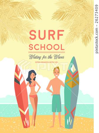 Surf School Poster 26273409