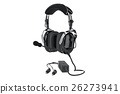 Headphones aviation digital 26273941