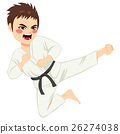 Karate Boy Jump 26274038