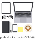 office, elements, laptop 26274044