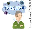 流行性感冒 老人 年老 26276905