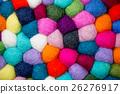 彩色 羊毛氈 羊毛 26276917