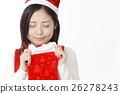 여성, 여자, 크리스마스 26278243